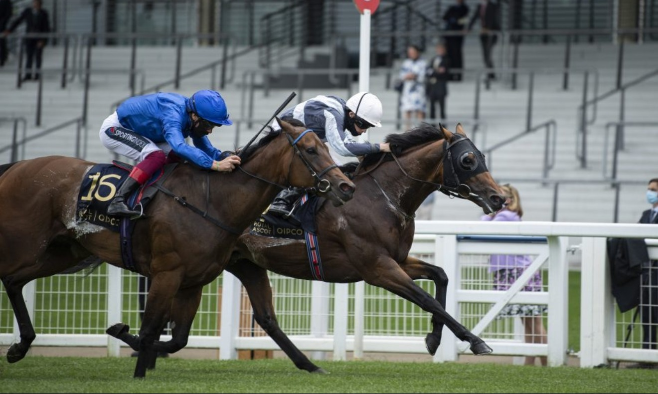 Circus Maximus winning the Gr.1 Queen Anne Stakes at Royal Ascot